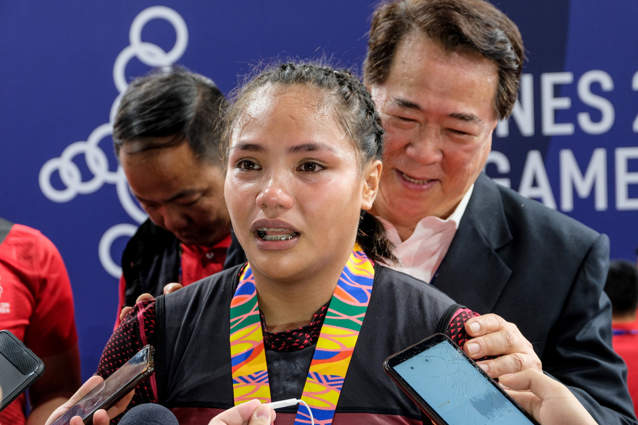 The Philippines' Kristel Macrohon tasted victory in the women's 71kg weightlifting event ©Getty Images