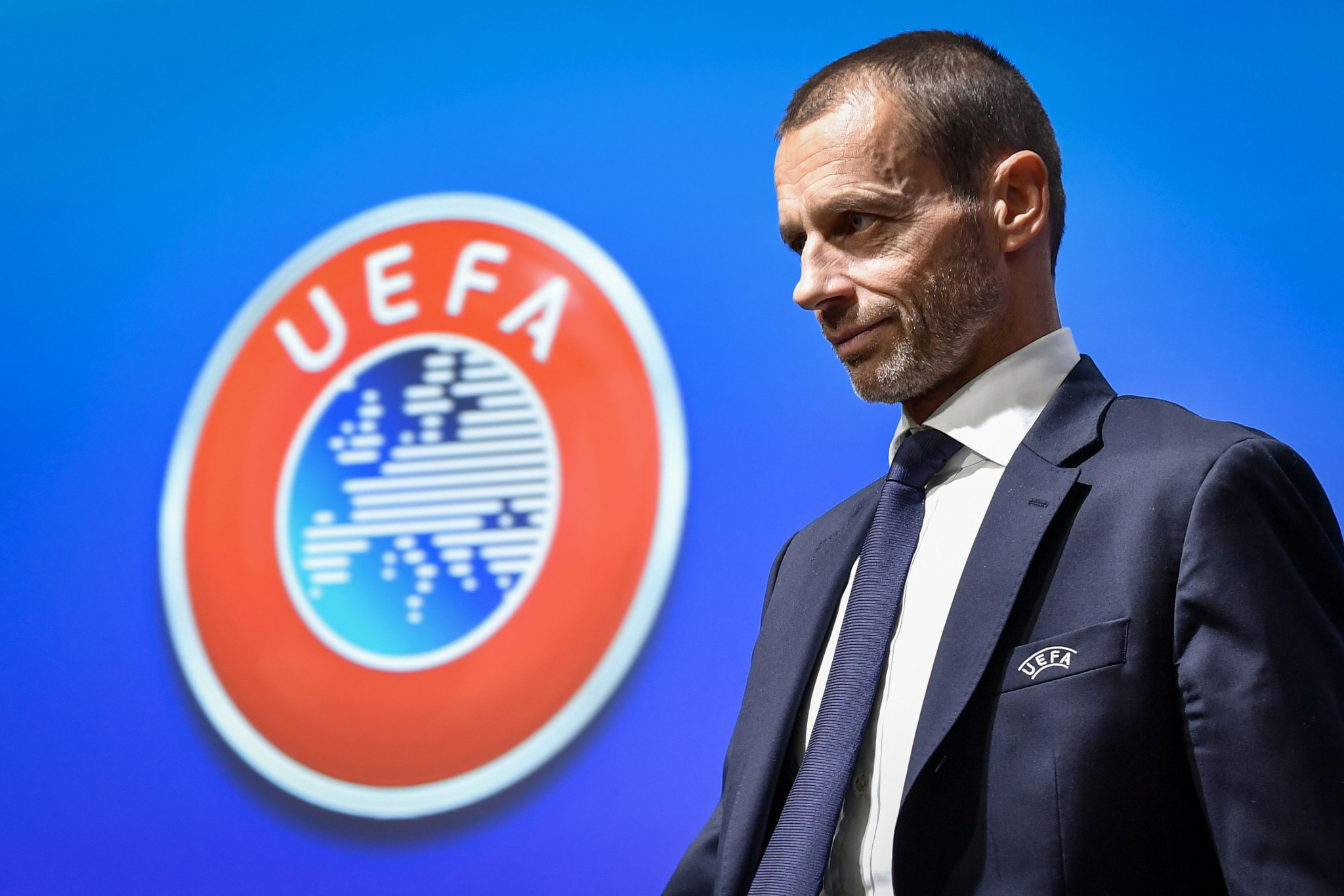 UEFA President Aleksander Čeferin has criticised the impact of VAR ©Getty Images