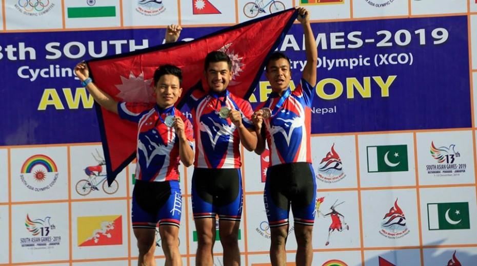 Hosts Nepal enjoying cycling success at South Asian Games