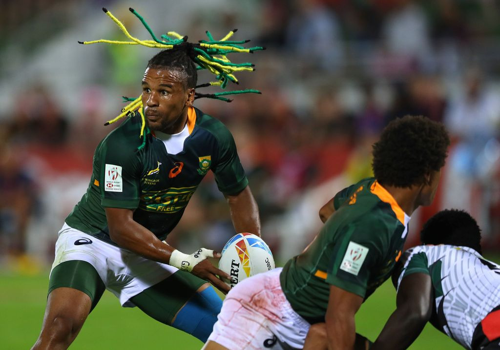 South Africa came from behind to beat Kenya on day one of the World Rugby Sevens Series event in Dubai ©World Rugby