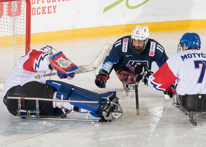 Canada and United States through to final at Para Hockey Cup