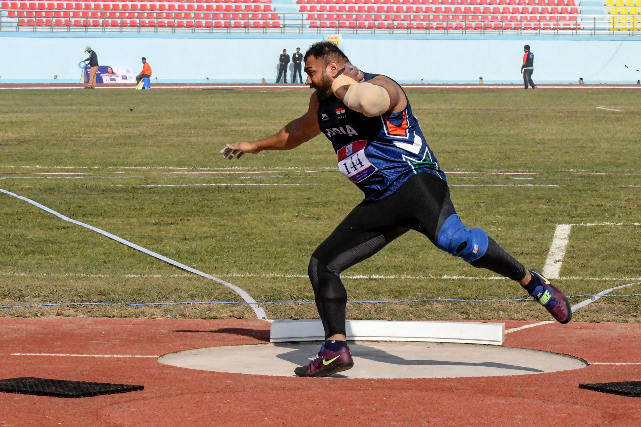 Indian shot putter Toor in record-breaking form at South Asian Games