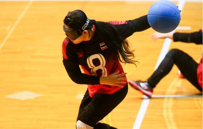 China's men's team shine on day two of IBSA Goalball Asia-Pacific Championships