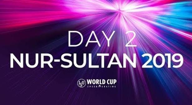 It was a day of fast times in Nur-Sultan ©ISU