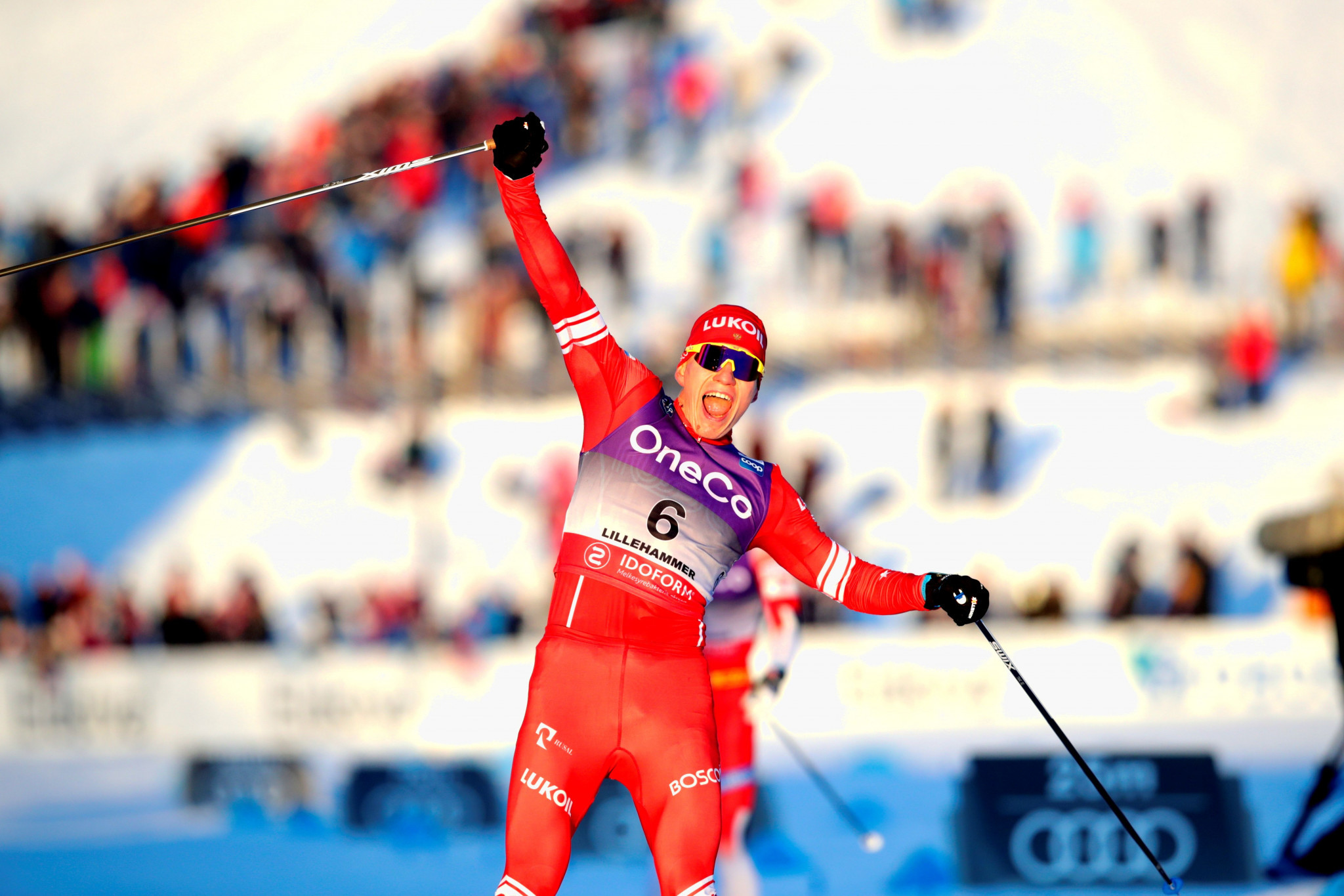 Bolshunov stuns Norwegians to claim FIS Cross-Country World Cup win in Lillehammer