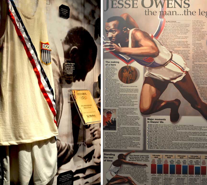 The Jesse Owens Museum in Alabama hopes that the successful bidder for the Olympic gold medal from Berlin 1936 will allow them to display it as part of their permanent exhibition ©Jesse Owens Museum