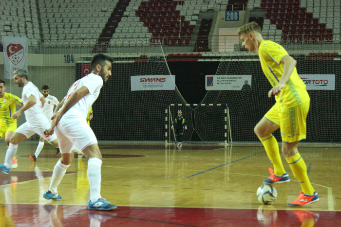 Ukraine begin IBSA Partially Sighted Football World Championship title defence by beating hosts