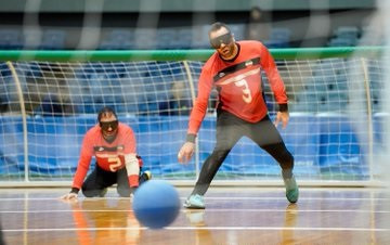 The semi-finals took place today at the IBSA Goalball Asia-Pacific Championships in Chiba ©Japan Goalball Association