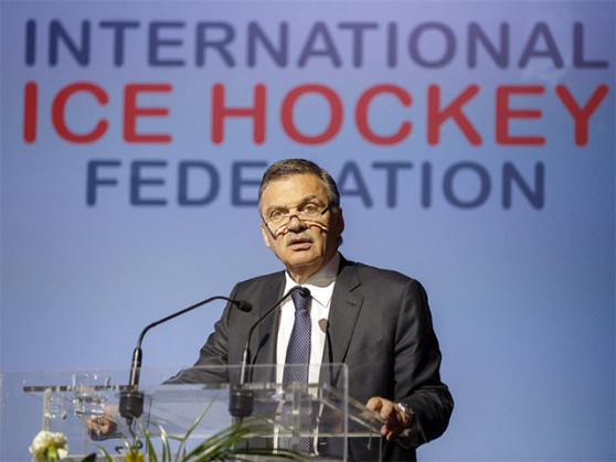 René Fasel has confirmed Russia has offered to host next year's IIHF World Championship ©IIHF