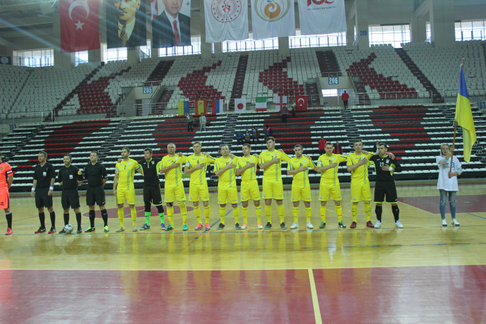 Ukraine go into final day of IBSA Partially Sighted Football World Championship in pole position