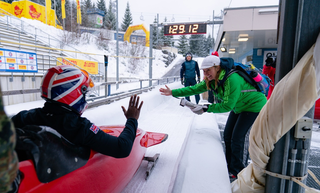 Mapp continues good form at IBSF Para Bobsleigh World Cup in Oberhof