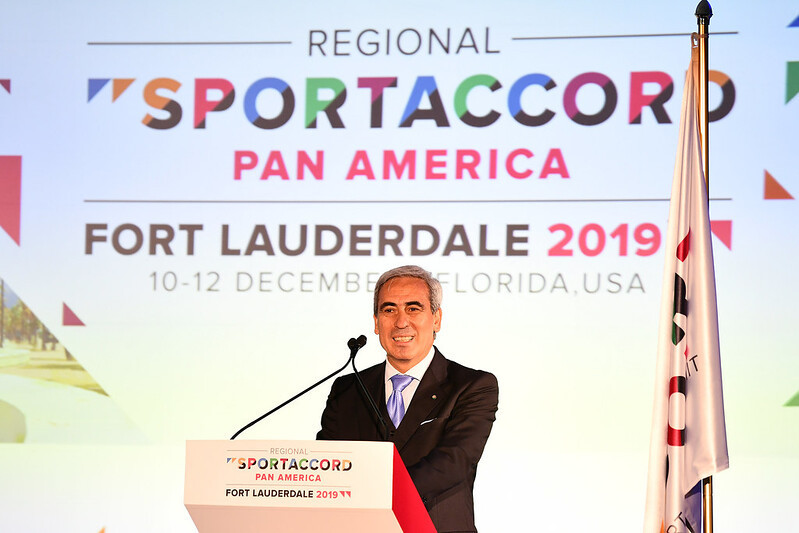 """Chiulli claims Regional SportAccord Pan America an """"important event"""""""