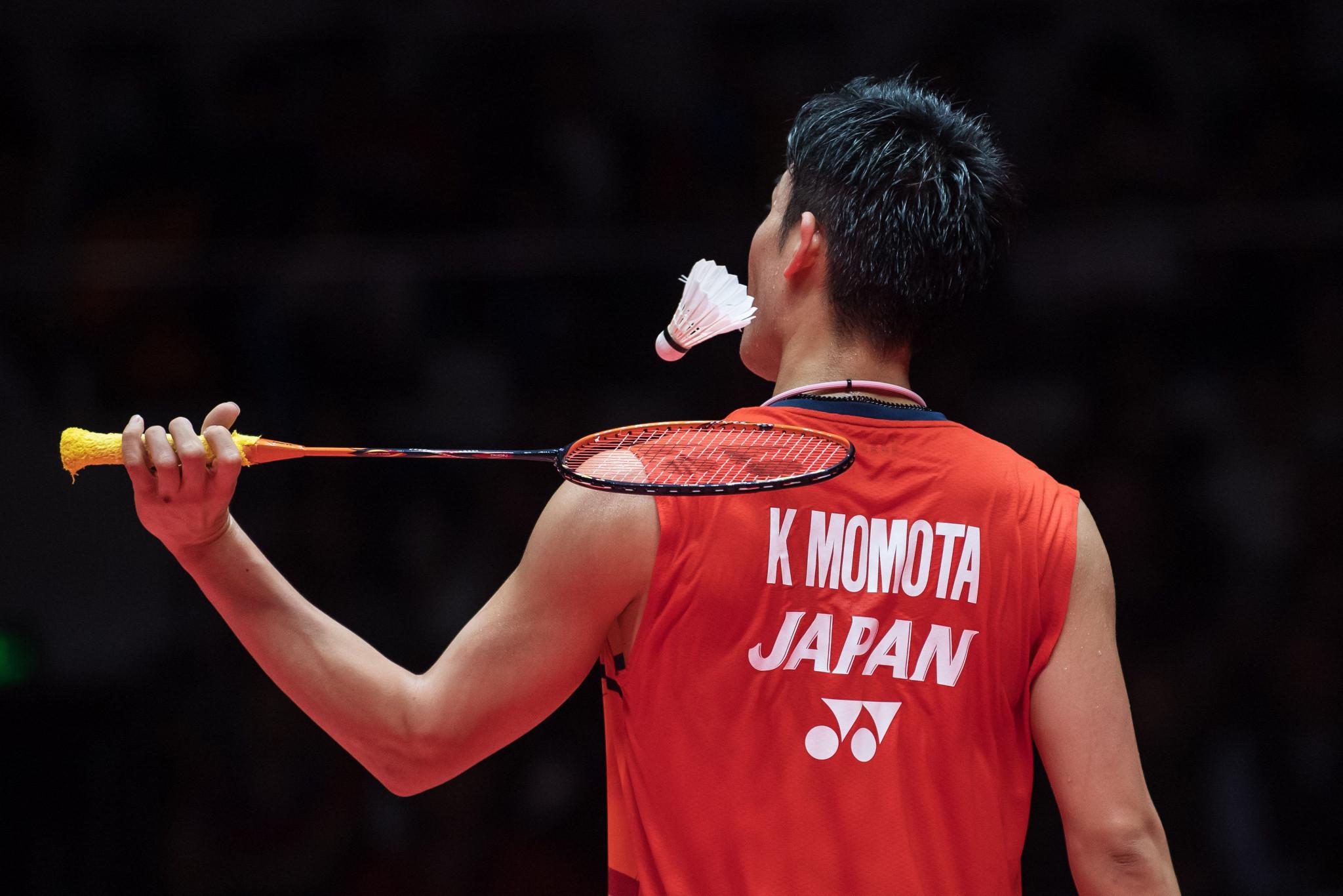 Momota advances to final at BWF World Tour Finals