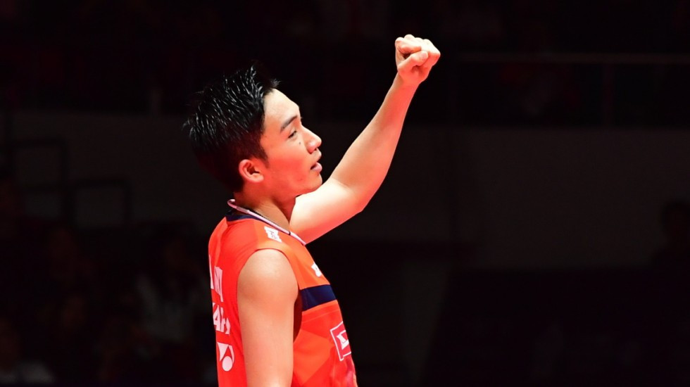 Kento Momota has offered his coaching services ©Getty Images