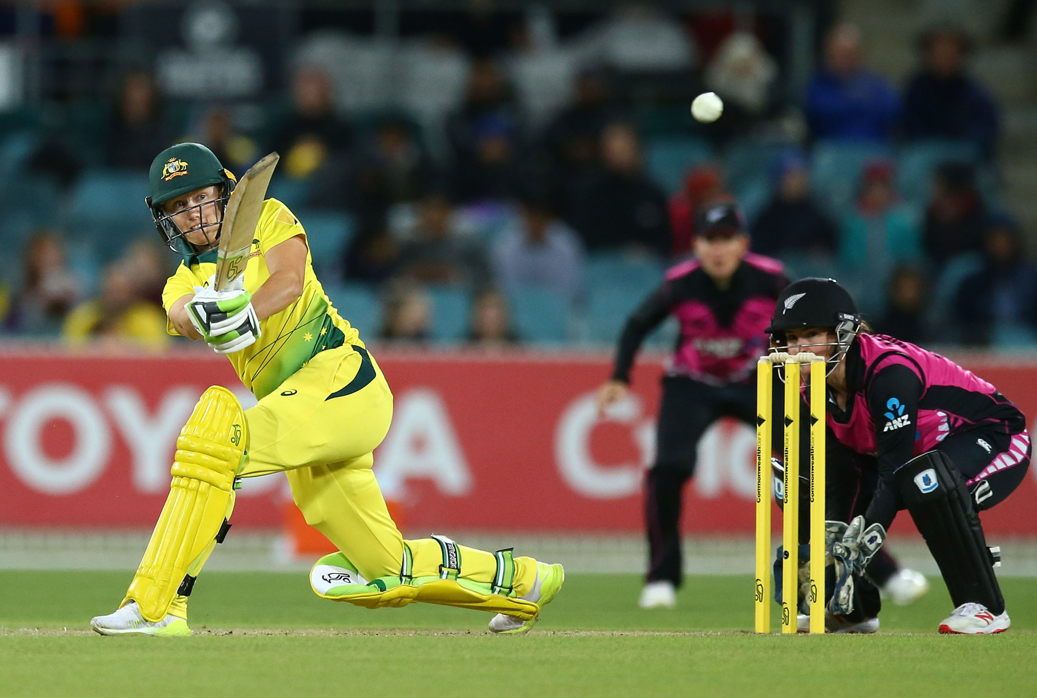 Australia's Alyssa Healy has been named the T20I Cricketer of the Year for the second year running ©ICC