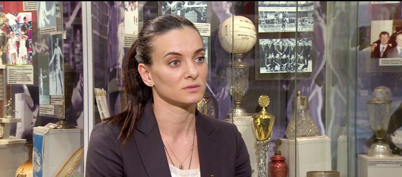 Double Olympic pole vault gold medallist and IOC member Yelena Isinbayeva is among the seven-person RUSADA Supervisory Board who will meet to decide whether to appeal against the WADA ban ©YouTube