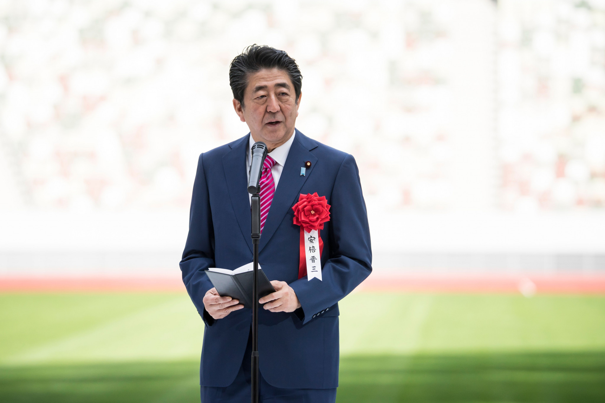 Shinzo Abe has stressed that the Tokyo 2020 Olympics will go ahead as planned ©Getty Images