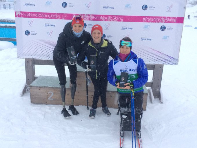 Kendall Gretsch of the United States won her second biathlon gold medal at the World Para Nordic Skiing World Cup in Lillehammer ©Para Snow Sports