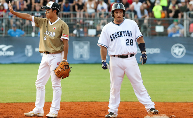 Argentina captain Bruno Motroni was elected as a male athlete representative on the WBSC Softball Division Board in June ©WBSC
