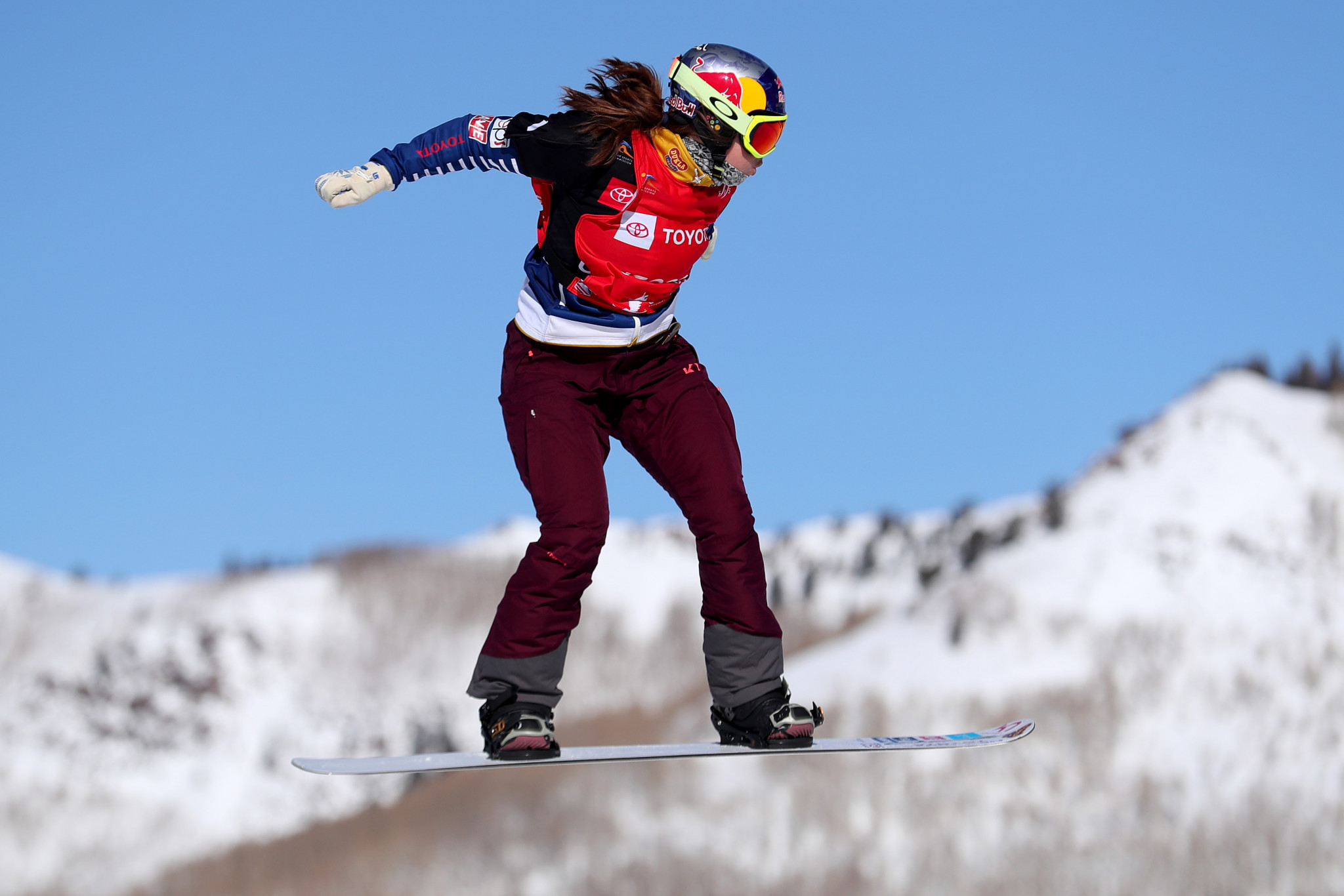Czech Republic's Eva Samková will be looking to make it two consecutive wins at the FIS Snowboard Cross World Cup in Cervinia ©Getty Images