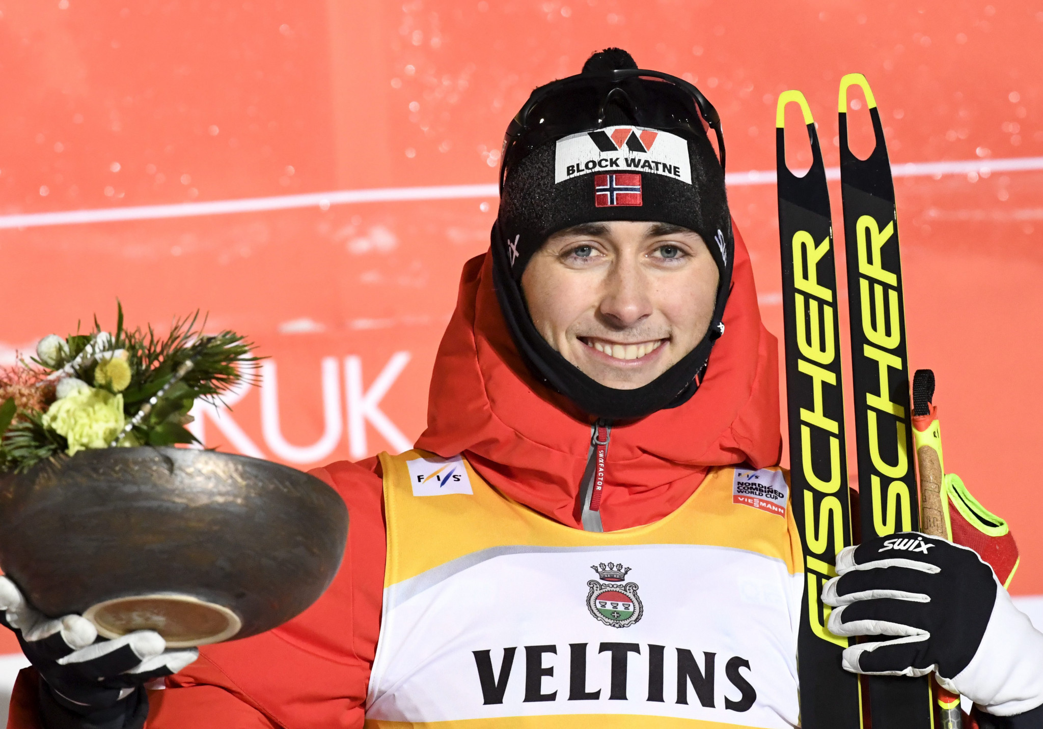 Riiber aims to continue perfect FIS Nordic Combined World Cup record