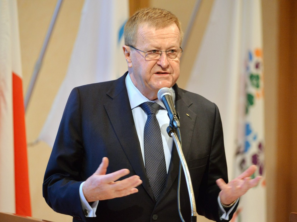 John Coates explained the plans to set up an independent disciplinary panel at Rio 2016 in his function as President of the Court of Arbitration for Sport, although he is also vice-president of the IOC ©Getty Images
