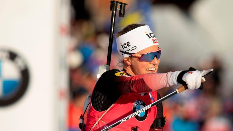 Eckhoff and Lægreid secure pursuit wins at IBU Biathlon World Cup in Oberhof