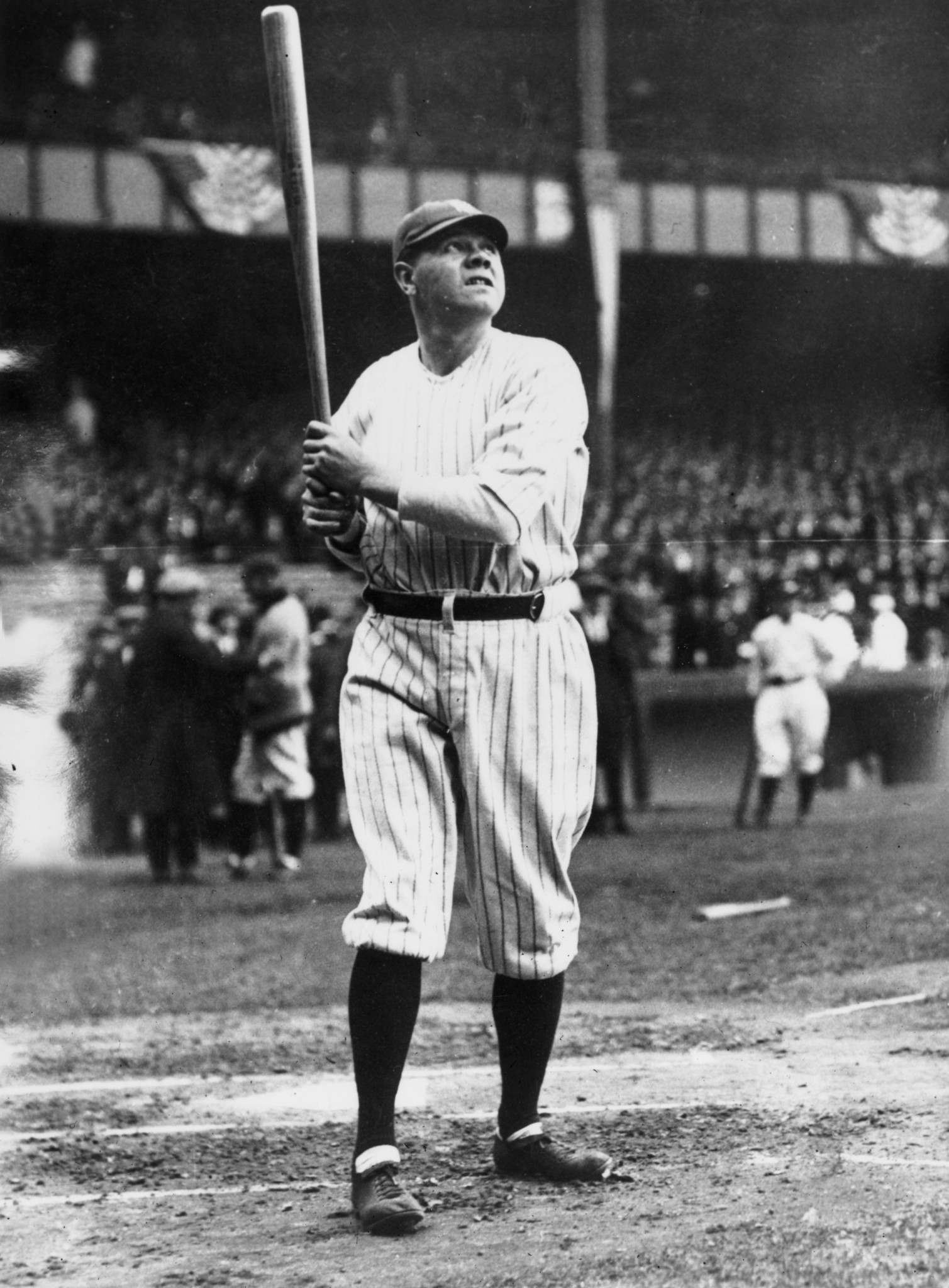 In 1999, Michael Jordan was named the 20th century's greatest North American athlete by ESPN and was second to Babe Ruth, pictured, on the Associated Press list of athletes of the century ©Getty Images