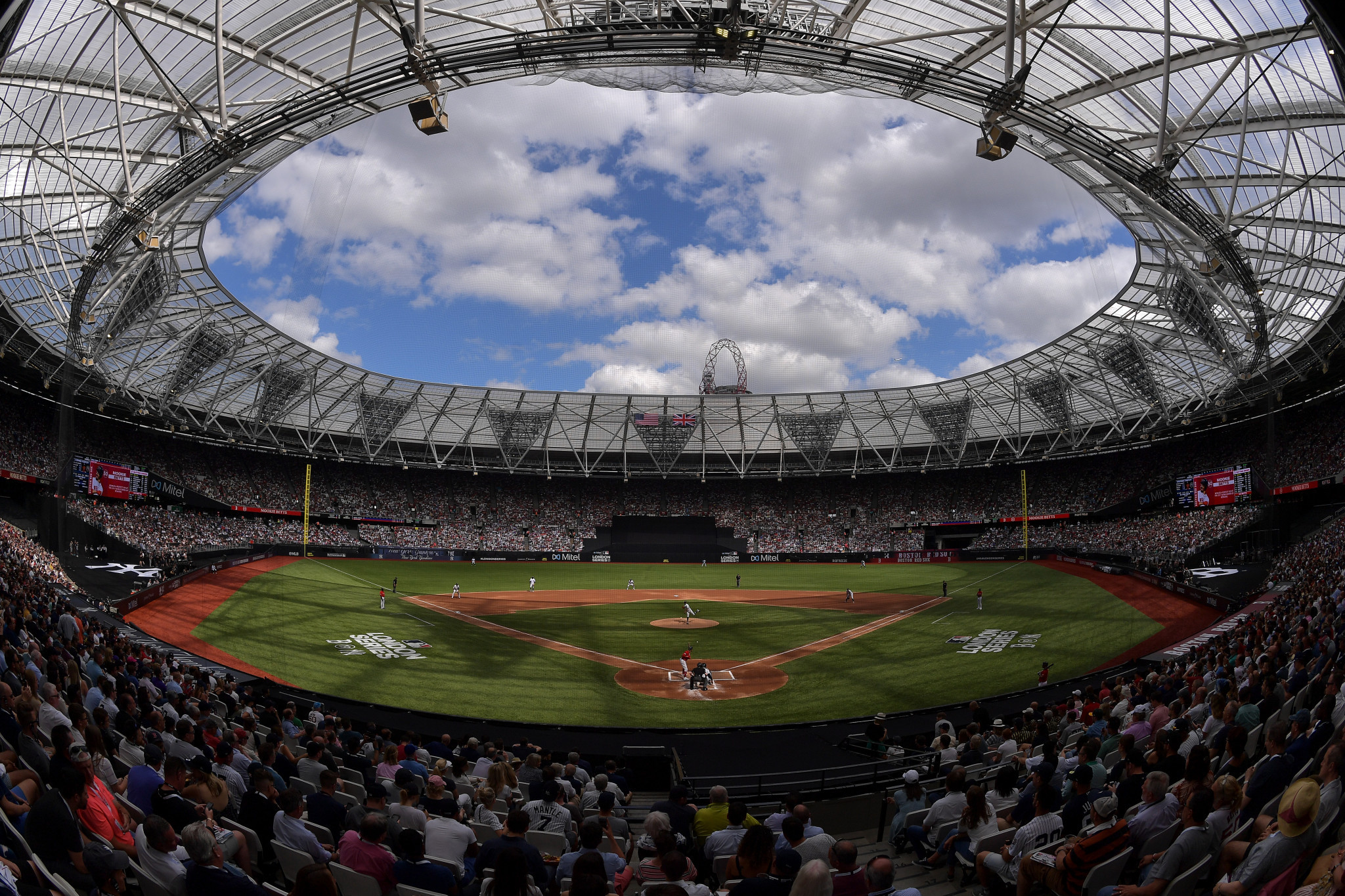 The MLB London Series boosted the city's economy by £37 million, a report has claimed ©Getty Images