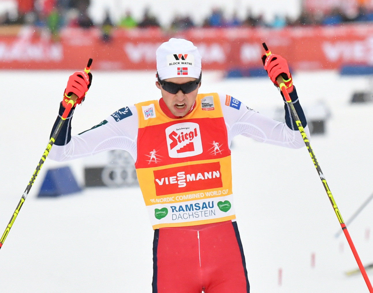 Riiber returns to top of FIS Nordic Combined World Cup podium