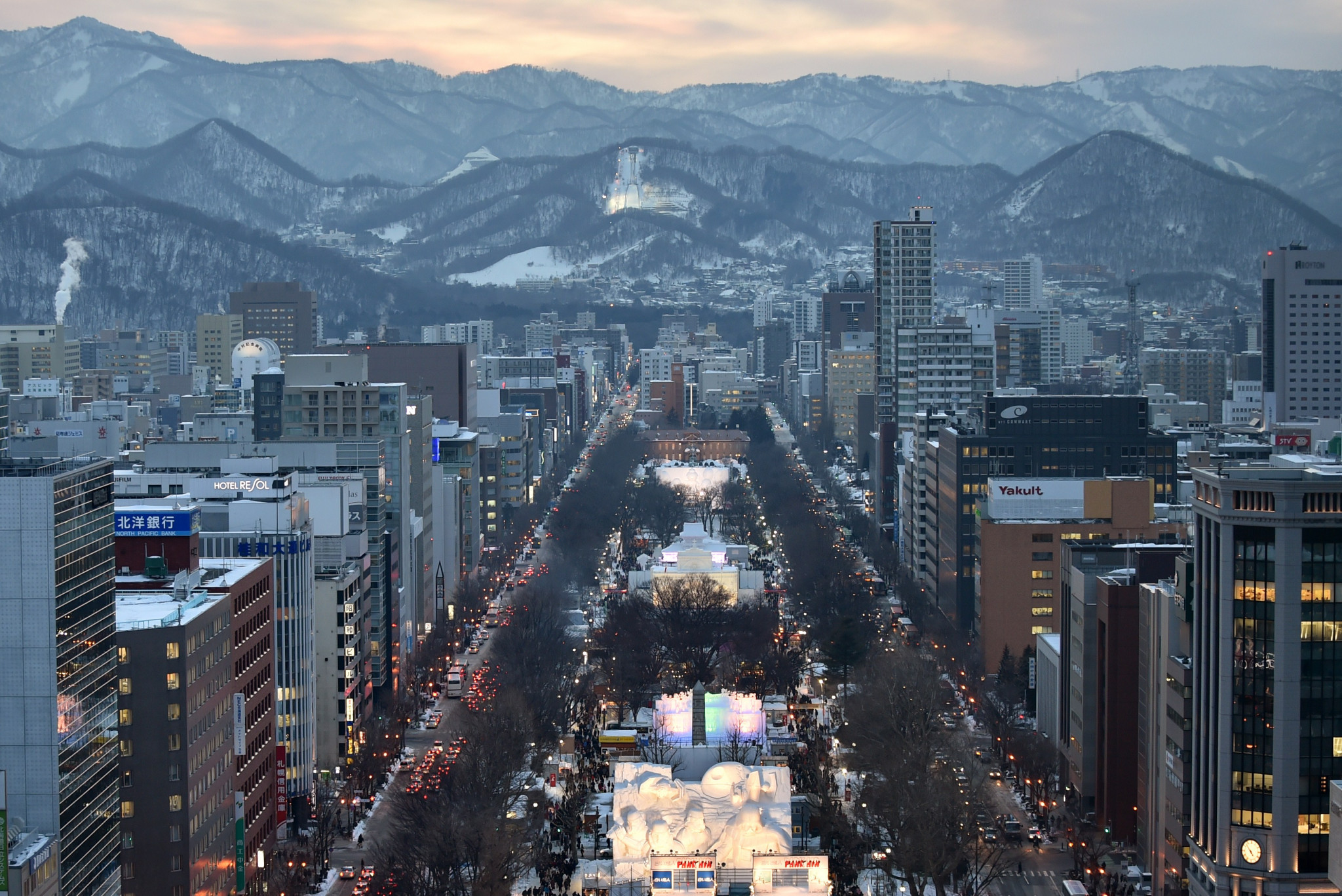 Sapporo is set to enter the race to host the 2030 Winter Olympic and Paralympic Games ©Getty Images