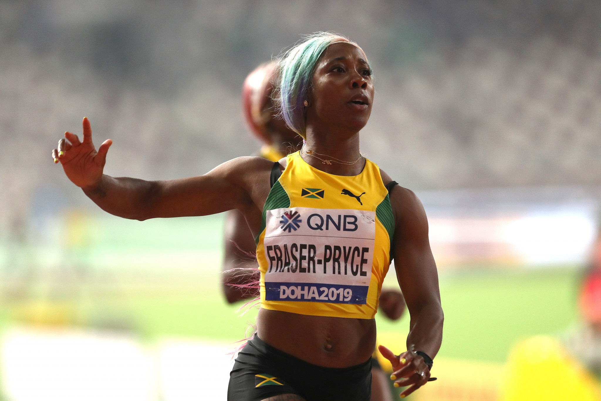 Fraser-Pryce to double in 100m and 200m at Tokyo 2020