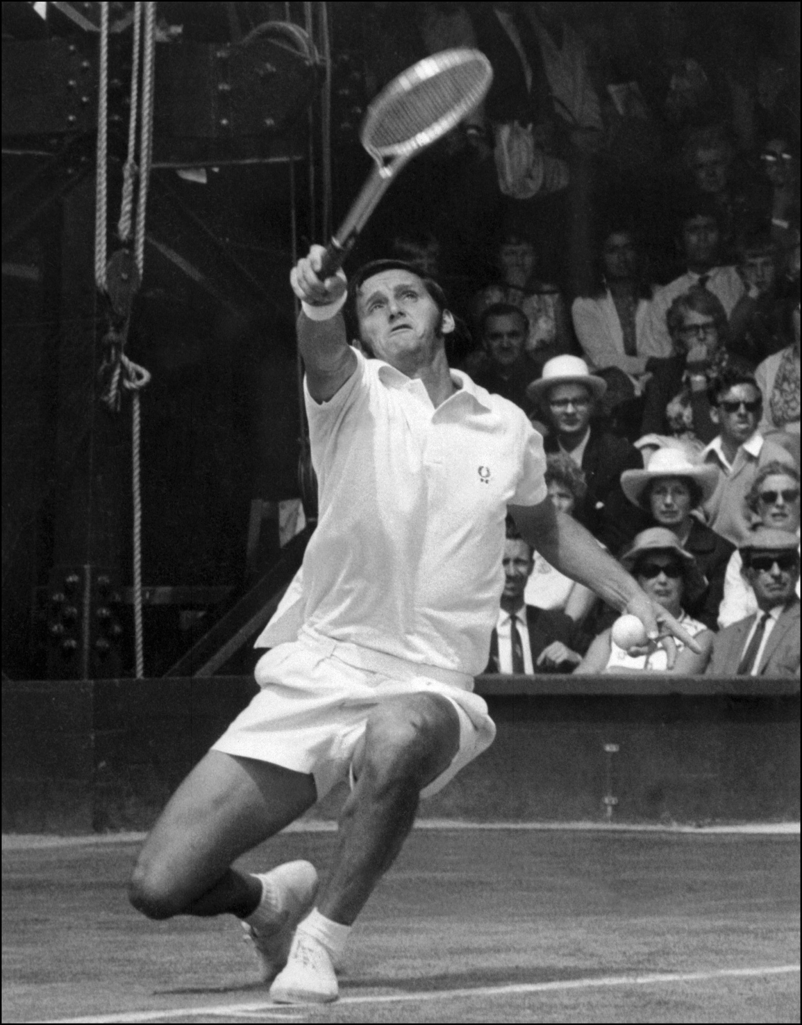 Australian Roy Emerson was among the stars of the sporting year in 1964 ©Getty Images