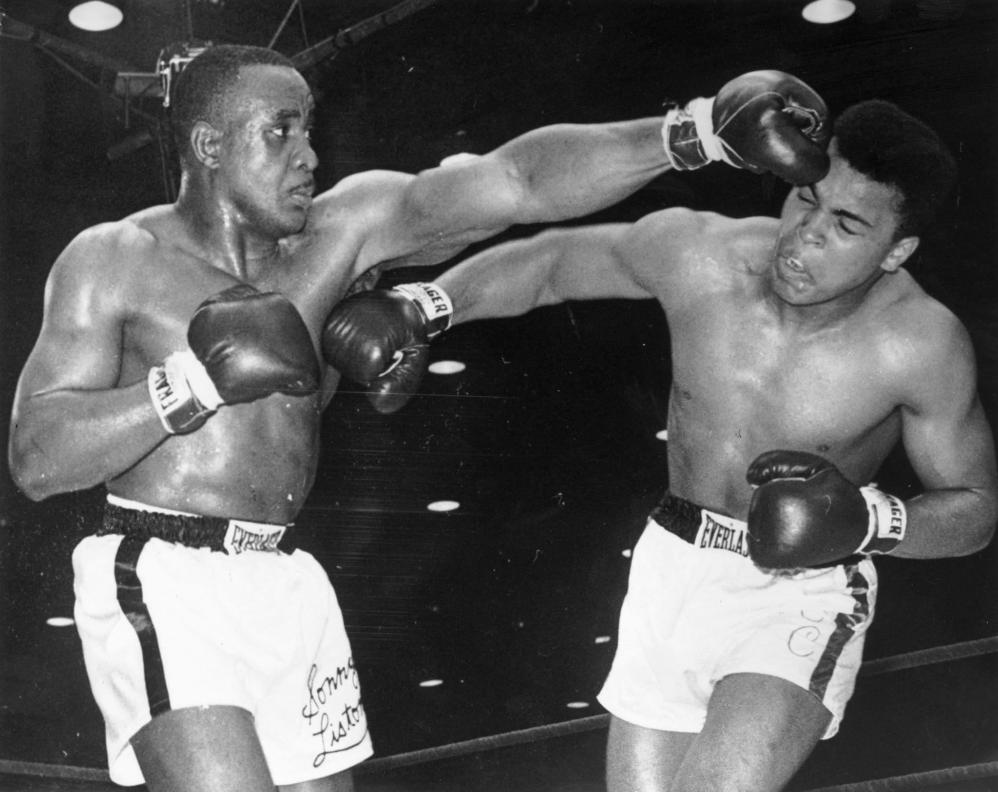 Cassius Clay faced Sonny Liston in a world heavyweight clash in February 1964 ©Getty Images