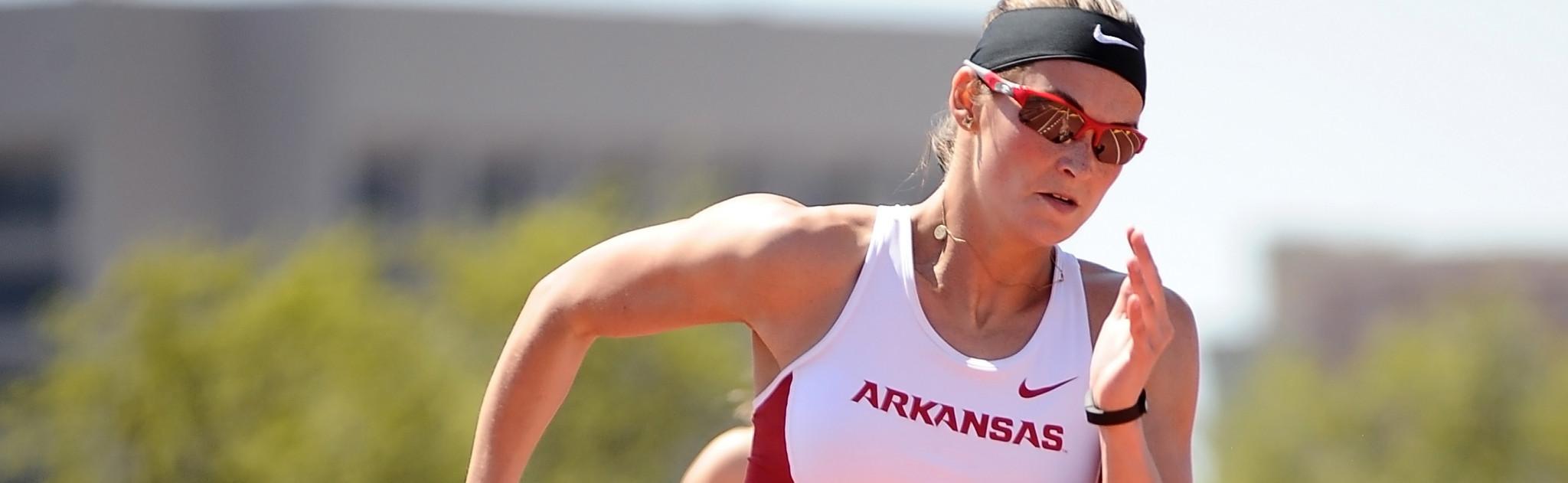 Alexandria Gochenour has received a four-year anti-doping suspension ©Arkansas Razorbacks