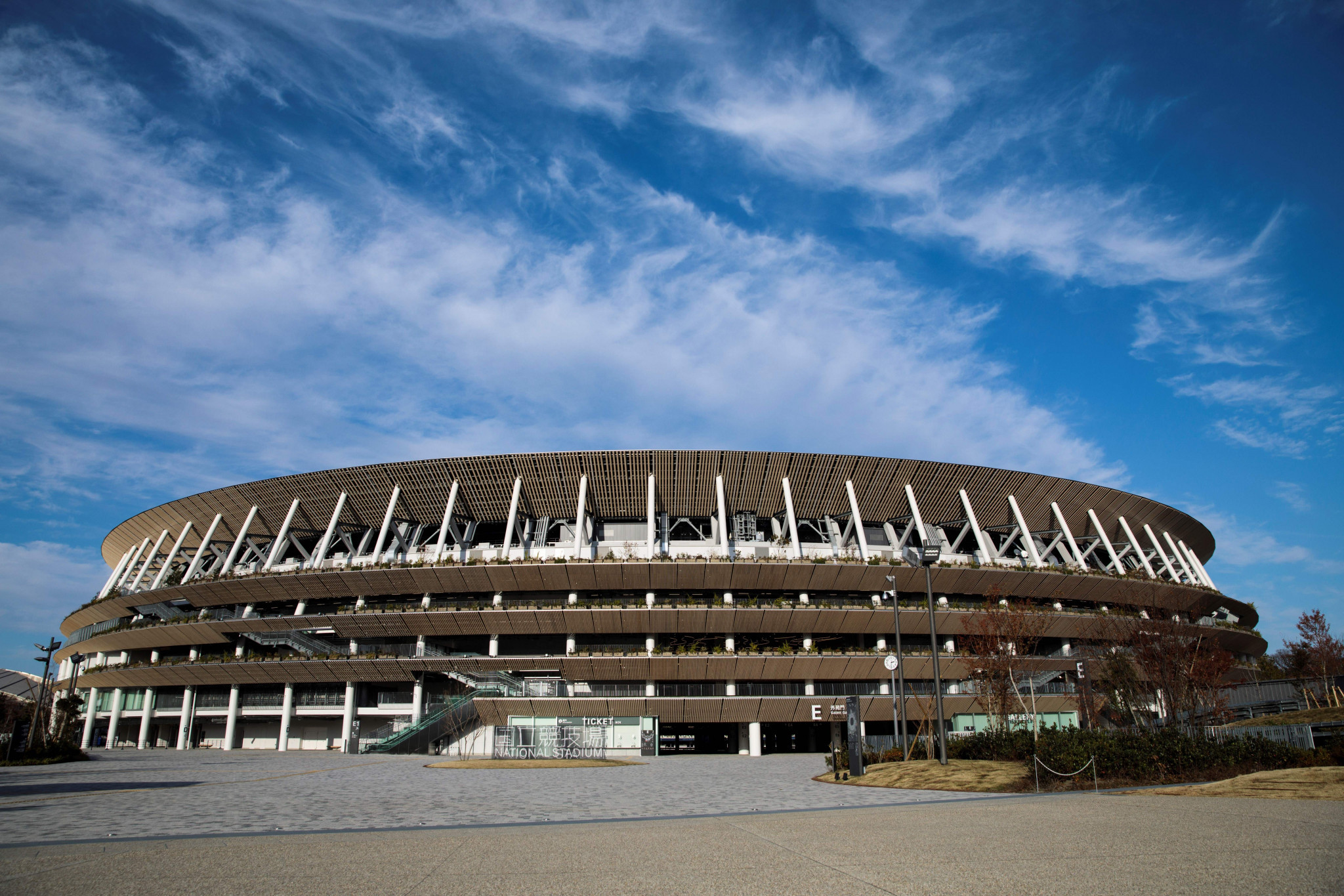 The Tokyo 2020 Olympic Stadium will be used for the Emperor's Cup ©Getty Images