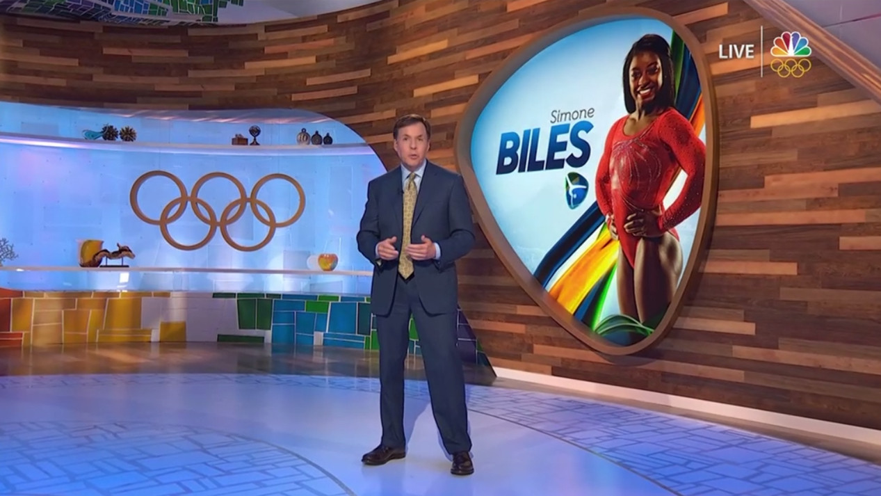 Television deals are still a lucrative source of income for the Olympic Movement but its growth is set to slow down in the future after years of providing mega-bucks for the IOC ©NBC