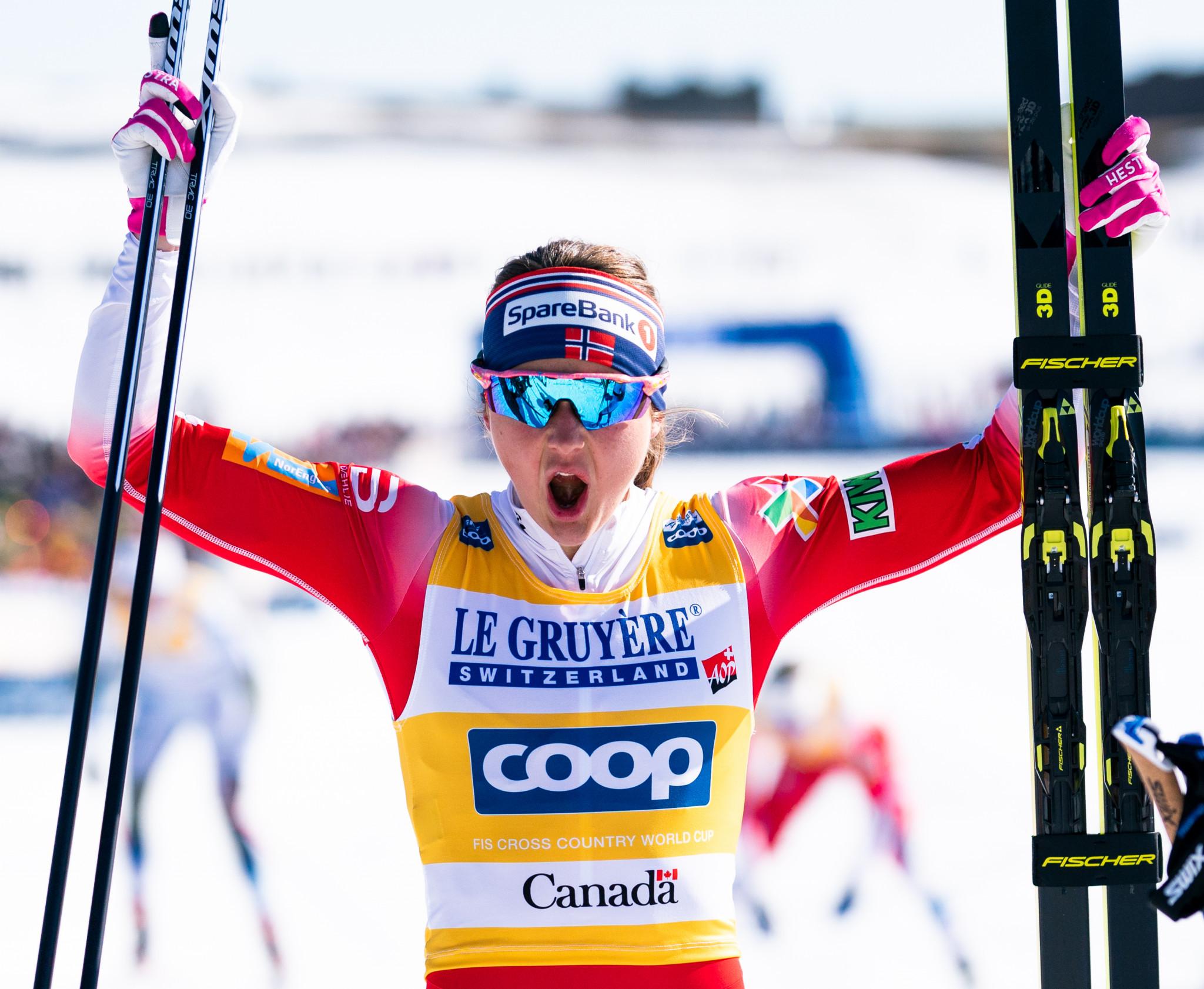 Østberg tops podium of fourth stage of Tour de Ski