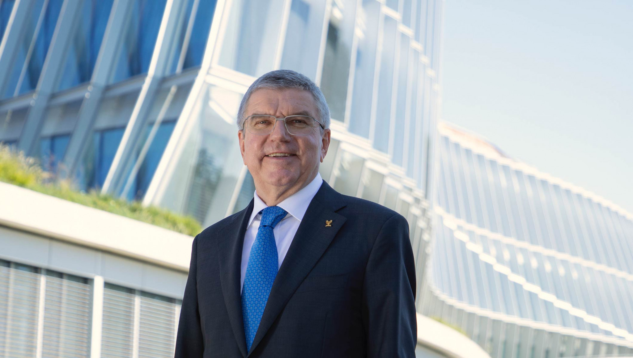 IOC President Thomas Bach has outlined his hopes for 2020 ©IOC