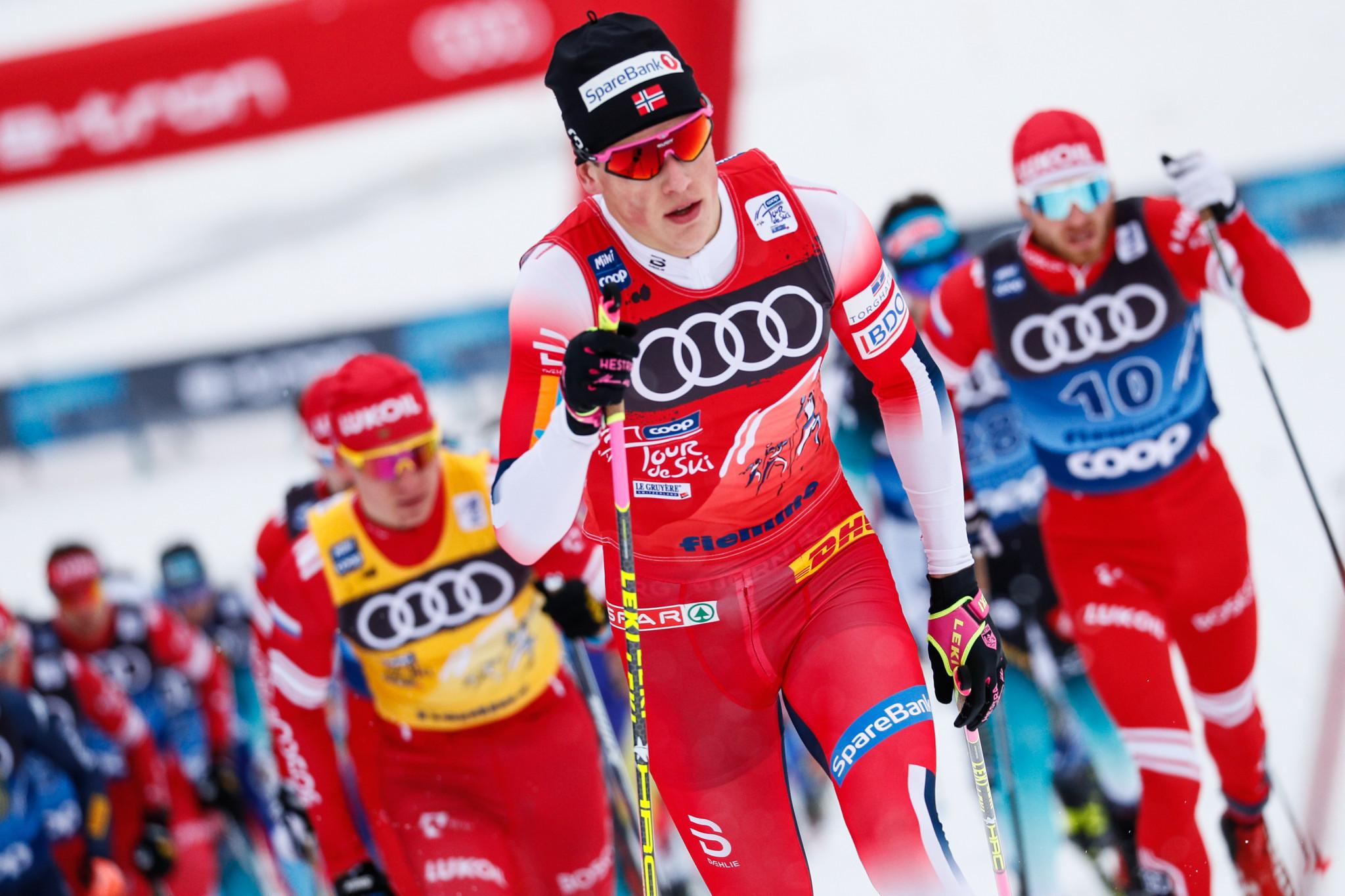 Klæbo and Jacobsen triumph at Tour de Ski grand final in Val di Fiemme