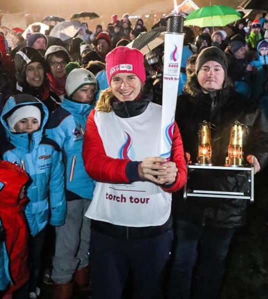 Lausanne 2020 flame crosses French border as final countdown begins