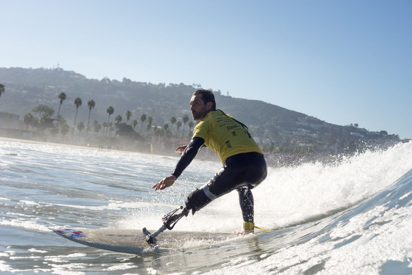 The ISA has launched a certification courses for adaptive surfing instructors ©ISA