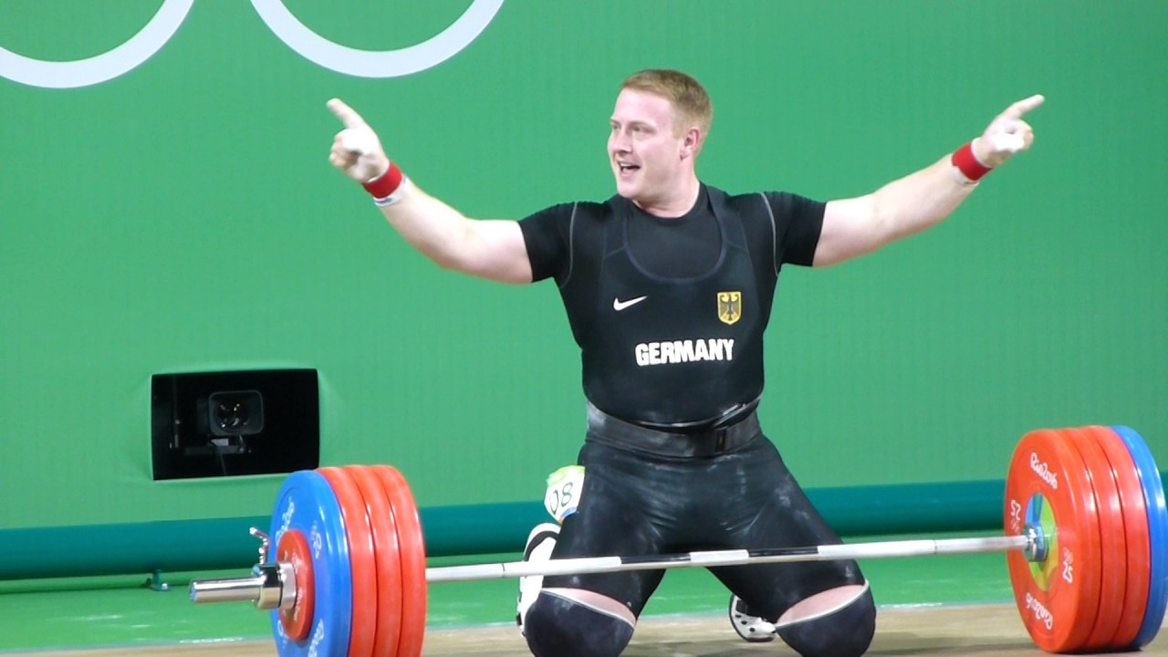 German weightlifter Jurgen Spiess claims in the programme that doping was only discussed among his rivals ©YouTube
