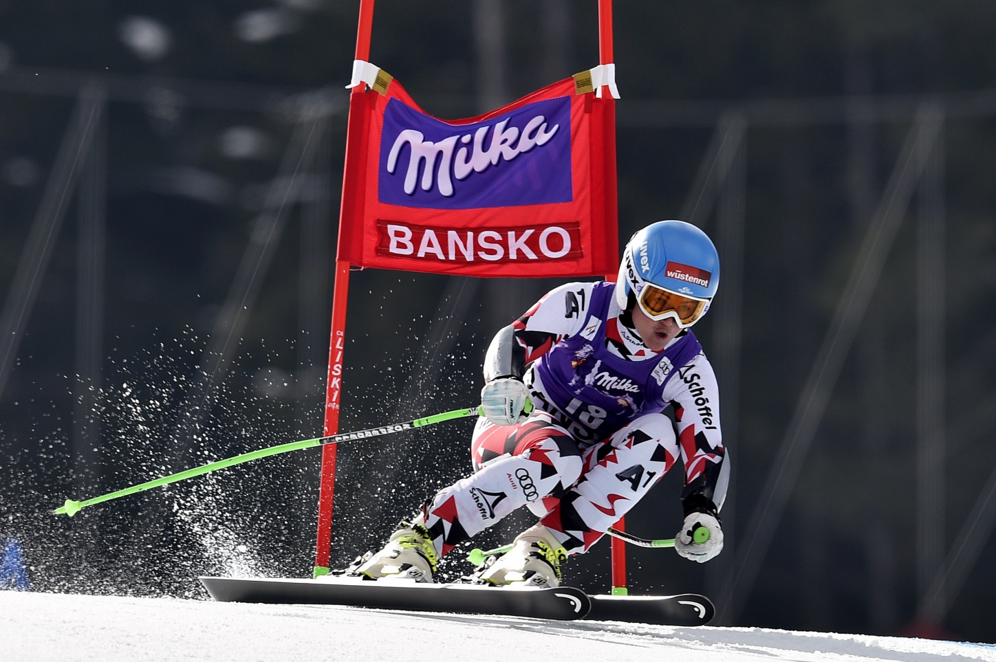 Three events will be held at the FIS Alpine Skiing World Cup in Bansko ©Getty Images