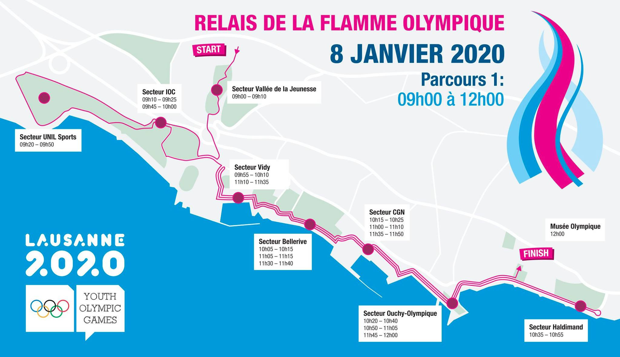 Lausanne 2020 Torch Relay poised for finale in host city