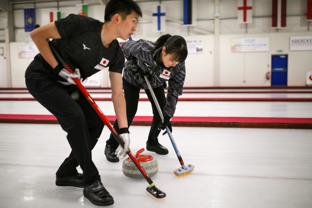 Groups decided for curling competition at Lausanne 2020
