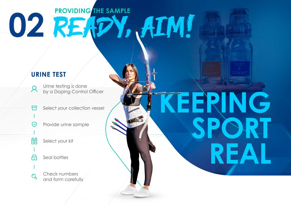 The ITA will hold learning experiences with athletes, along with anti-doping testing ©ITA