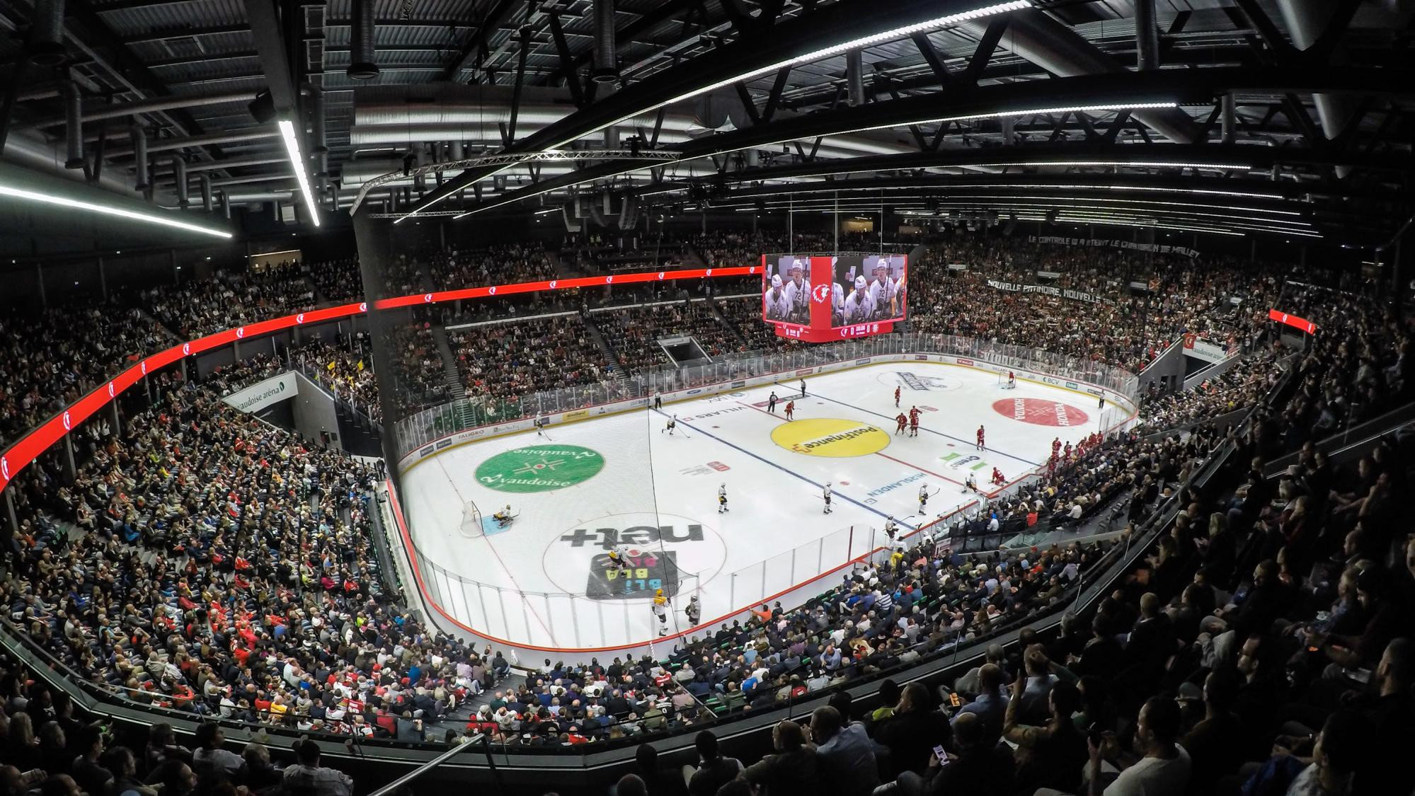 The Lausanne 2020 Winter Youth Olympic Games Opening Ceremony is taking place at Vaudoise Arena ©Lausanne Tourisme