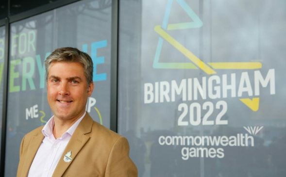 Birmingham 2022 chief executive Ian Reid believes 2020 will be a busy year for the Organising Committee ©Birmingham 2022
