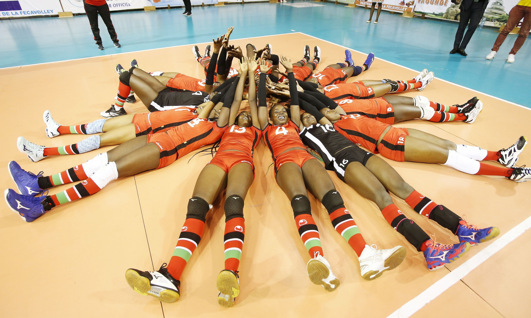 Kenya have qualified for the women's volleyball tournament at the Tokyo 2020 Olympic Games ©FIVB